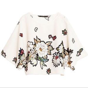 NEW Zara Floral Top